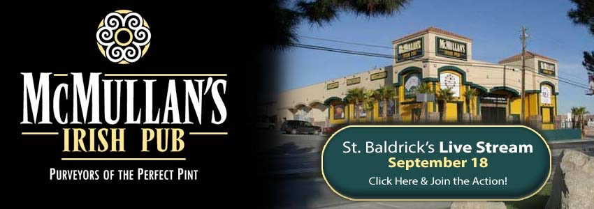 St. Baldricks Foundation at McMullan's Irish Pub!